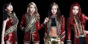 k-pop 2NE1 before BLACKPINK