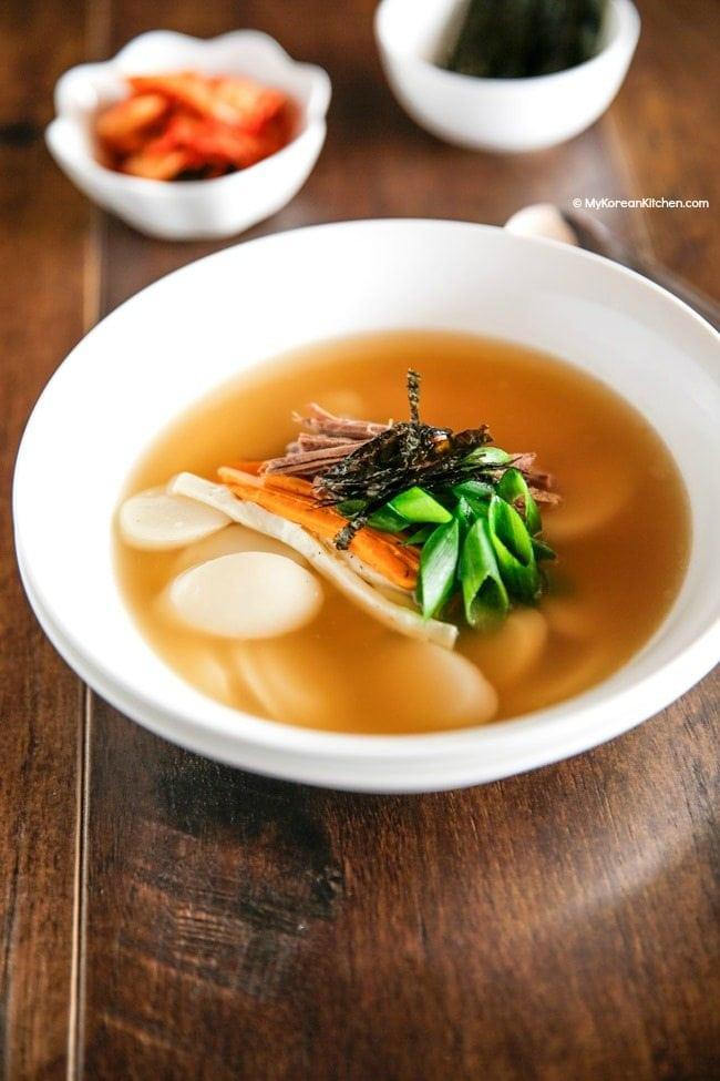 Korean soup dish