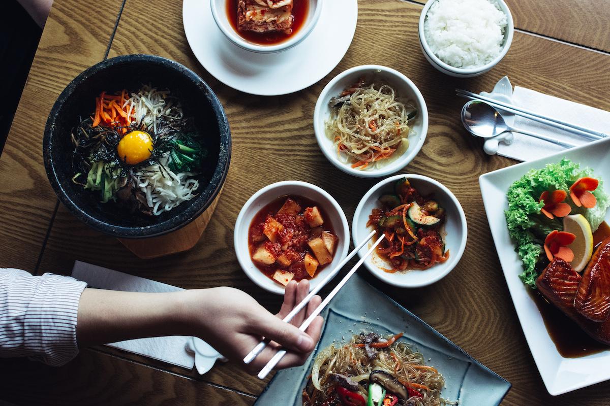 Korean cuisine feast