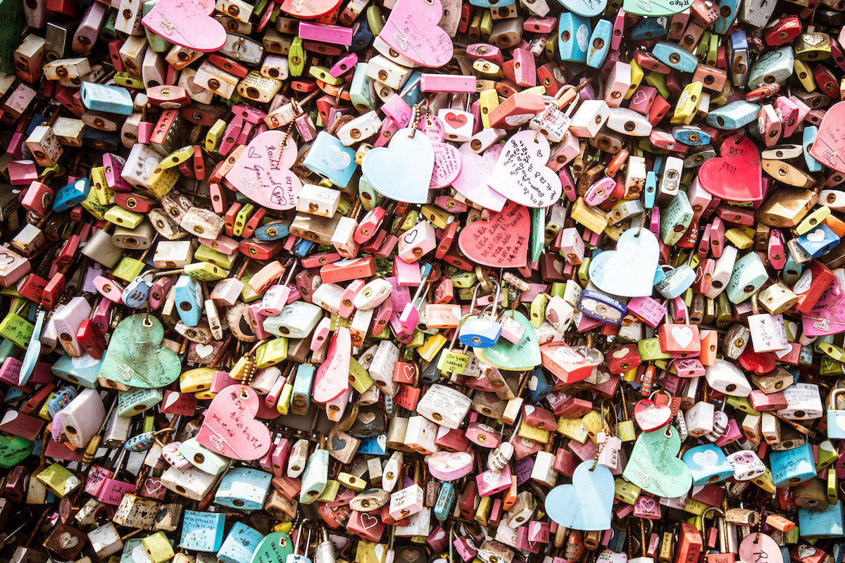 love locks seoul