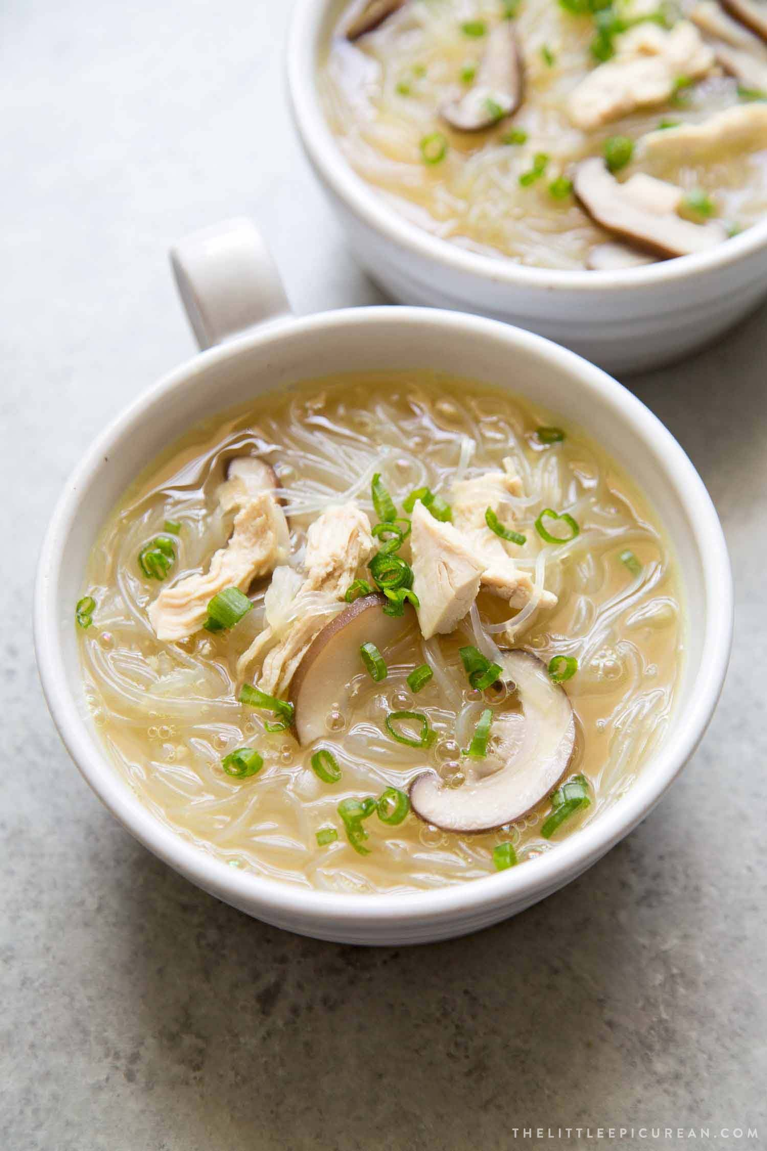Korean soups perfect season