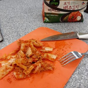 Fermented Kimchi Ready to Share Eat