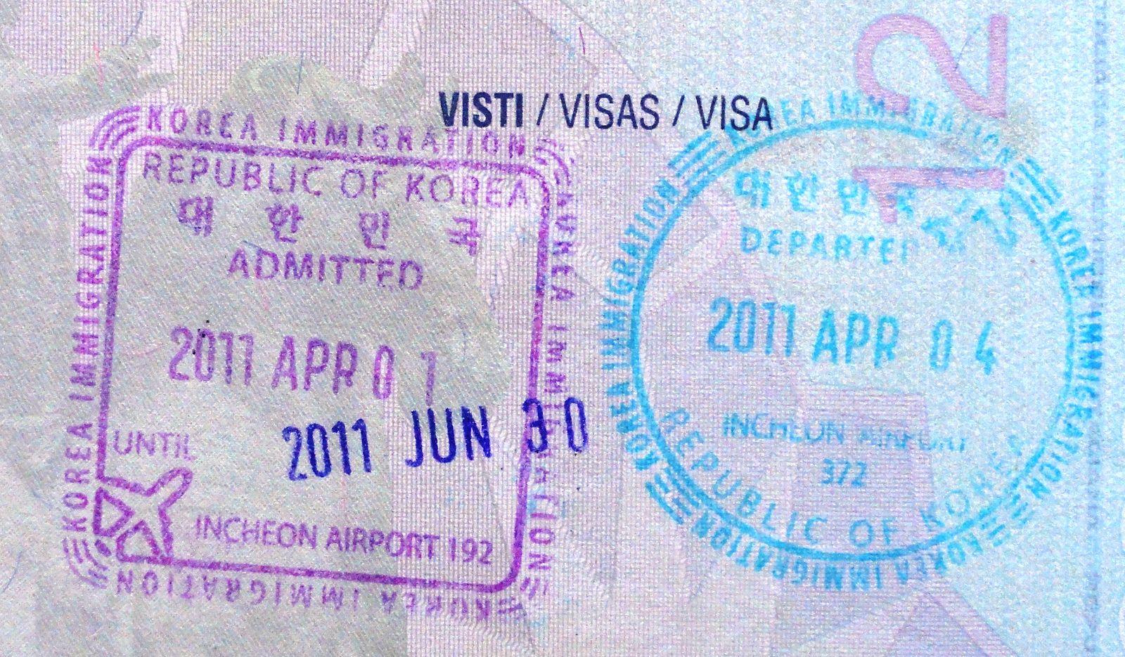 Travel to South Korea Visa