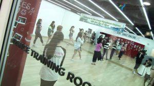 SM Town dance studio