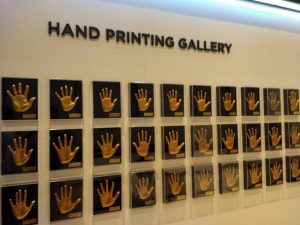 SM Town hand prints