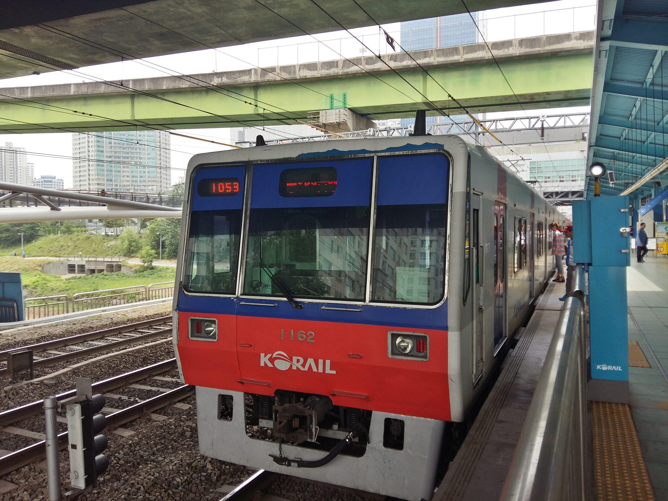 Travel to South Korea KORAIL