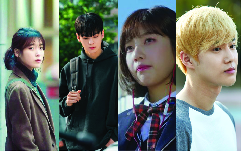 kpop idols in dramas and films