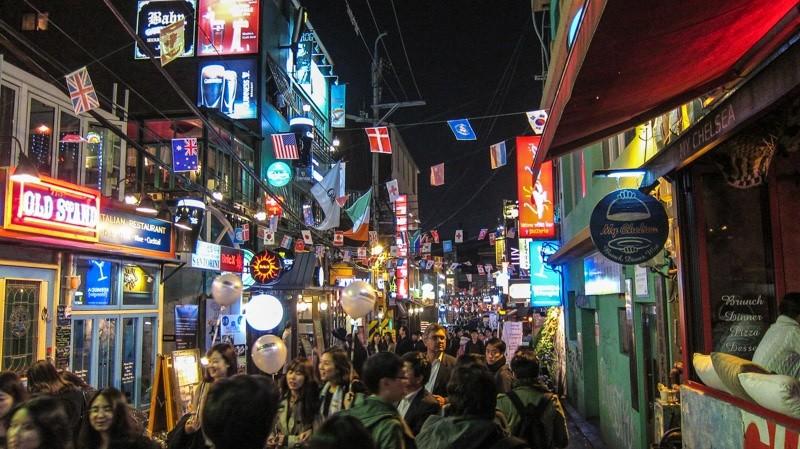 itaewon seoul south korea
